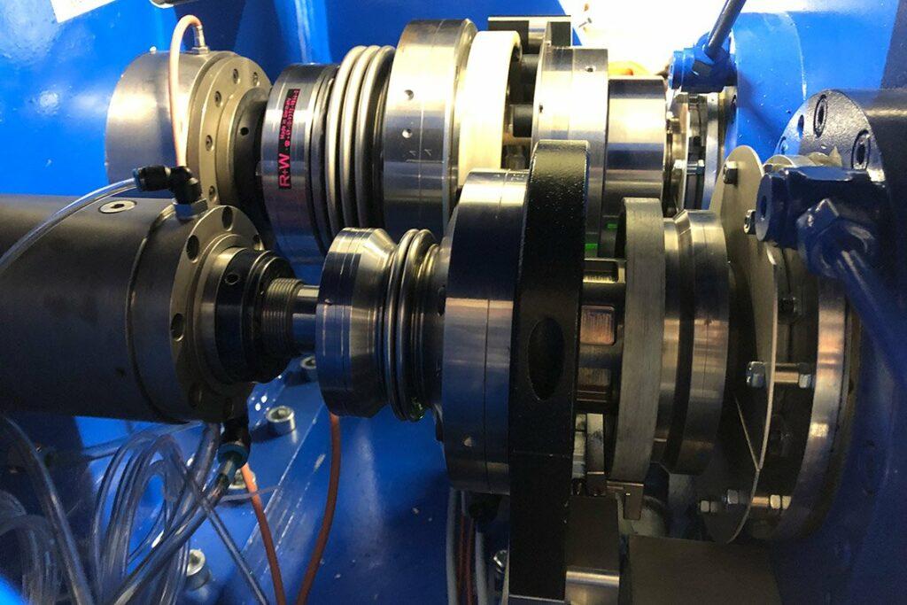Wellenstrang inkl. Hochsetzgetriebe mit zwei Abtriebswellen