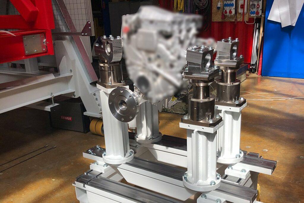Motorstütze - E-Motoren Adaption inkl. MS101