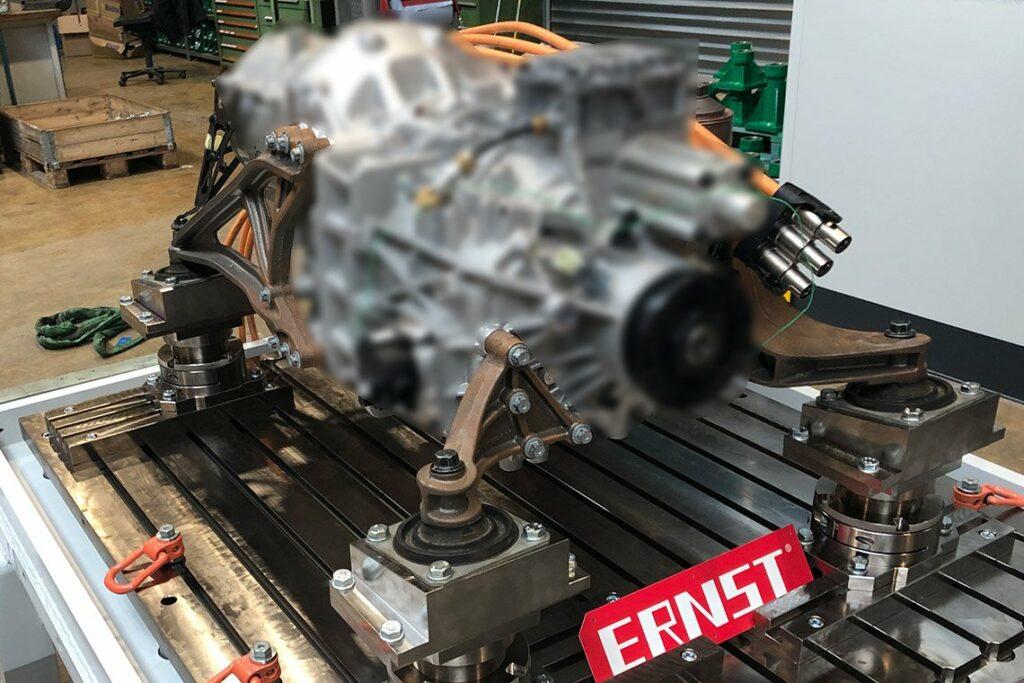 Motorstütze - E-Truck-Antriebseinheit inkl. MS101