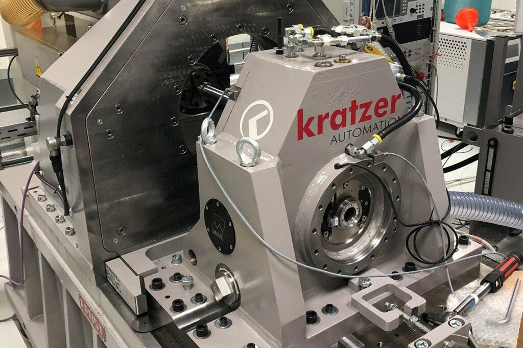 E-Motoren Prüfstand inkl. Hochsetzgetriebe