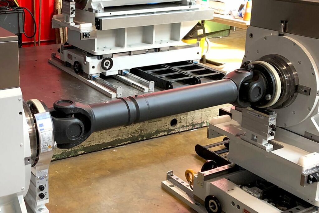 Cardan shaft for back-to-back performance tests