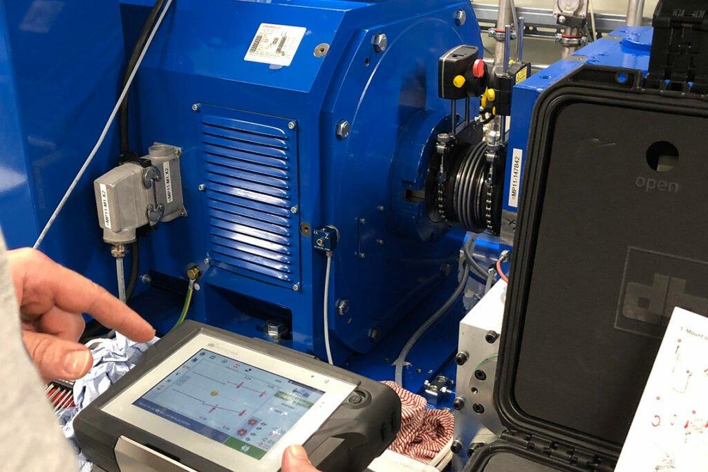Laserausrichtung - Service & Beratung - ERNST Prüfmaschinen